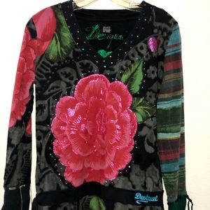 Desigual sweater Blouse Size S
